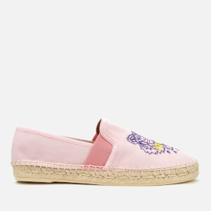 KENZO Women's City Tiger Logo Espadrilles - Flamingo Pink