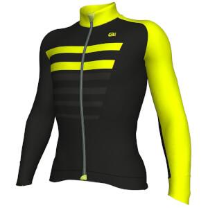 Alé Piuma Jersey - Black/Yellow