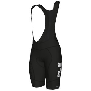 Alé R-EV1 Rumbles Winter Bib Shorts - Black