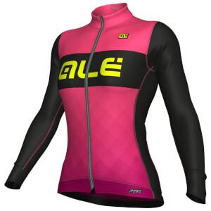 Alé R-EV1 Rumbles Winter Jersey - Pink/Purple