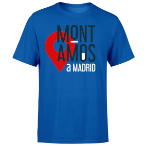 Mont Amos A Madrid Blue T-Shirt