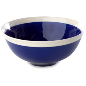 Nkuku Datia Bowl - Navy