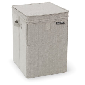 Brabantia Stackable 35 Litre Laundry Box - Grey