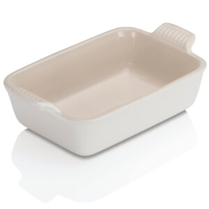 Le Creuset Stoneware Deep Rectangular Dish - 19cm - Cotton