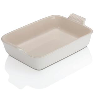 Le Creuset Stoneware Deep Rectangular Dish - 32cm - Cotton