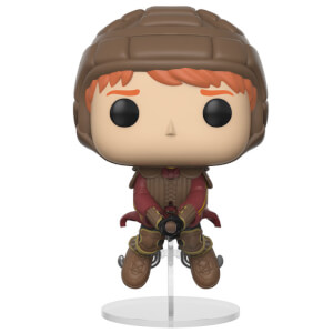 HARRY POTTER - RON SULLA SCOPA DA QUIDDITCH POP! VINYL