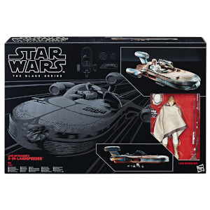 Hasbro Star Wars The Black Series: Luke Skywalker's X-34 Landspeeder