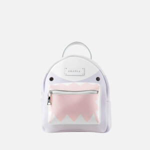 Grafea Women s Zippy Shark Backpack - Lilac eaa303a286a47