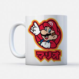 Tasse Nintendo Kanji Mario - Super Mario
