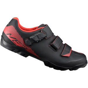 Shimano ME3 MTB Shoes - Black/Orange - Wide