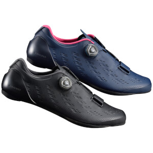 Shimano RP9 Road Shoes Carbon Sole - Black