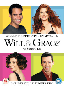 Will & Grace: 1-8 Complete