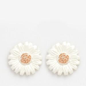 Olivia Burton Women's Flower Show Daisy Stud Earrings - Rose Gold