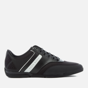 BOSS Green Men's Saturn Low Top Trainers - Black