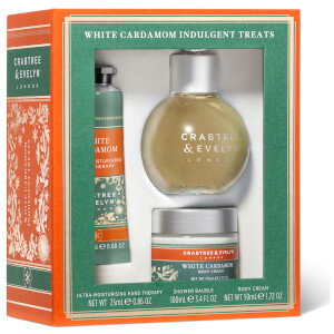 Crabtree & Evelyn White Cardamom Indulgent Travelling Treats