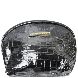 Youngblood Croc Makeup Bag Black GWP