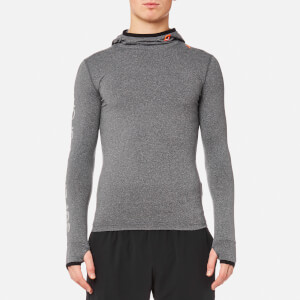 7393be4912a Superdry Men s Gym Sport Runner Hoody - Grey Grit