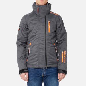 Superdry Men's Snow Wind Jacket - Grey Marl