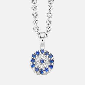 Missoma Women's Silver Talisman Necklace - Silver