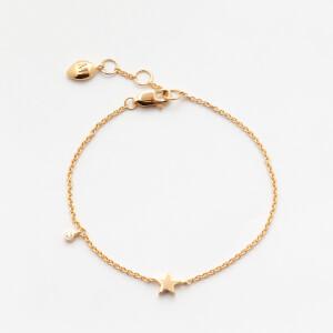 Missoma Women's Gold Star Bracelet - Gold