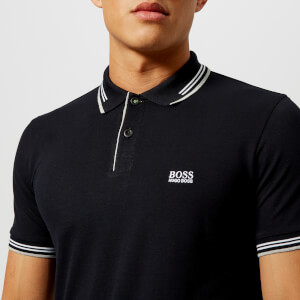 BOSS Green Men's Paul Polo Shirt - Black
