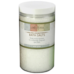 Heartland Fragrance Co. Healing Aromatherapy Bath Salts - White Ginger