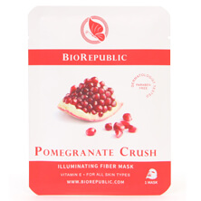 BioRepublic SkinCare BioRepublic Pomegranate Crush Illuminating Sheet Mask