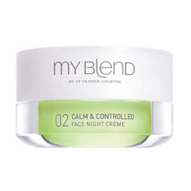 My blend FORMULE 02 NUIT /Calm & Controlled-Peau grasse et sensible