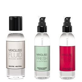 MIXGLISS 3 dosettes de lubrifiant aux arômes naturels