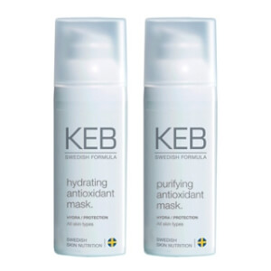 KEB SKINCARE antioxidant mask (hydrating/purifying)
