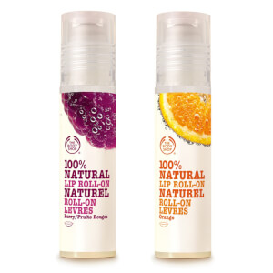 The Body Shop 100 % Natural Lip Roll-On