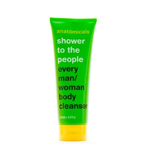 Anatomicals SHOWER TO THE PEOPLE EVERY MAN/WOMAN BODY CLEANSER.