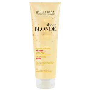 John Frieda Sheer Blonde® Highlight Activating Volumen Shampoo