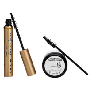 Nutraluxe MD Lash Powder WIMPERN-FLOCKER & Hyaluron-Mascara Set