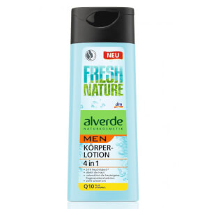 alverde NATURKOSMETIK alverde MEN Körperlotion 4in1 Q10 plus Vitamin E