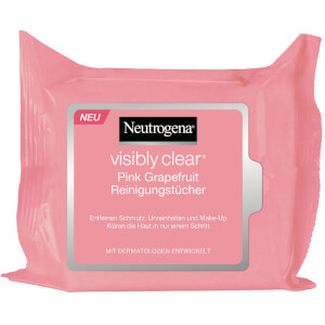 Neutrogena visibly clear Pink Grapefruit Reinigungstücher