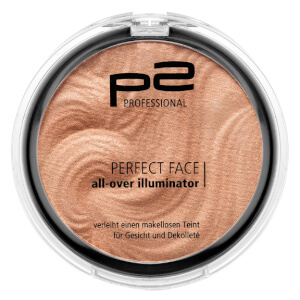 p2 cosmetics Perfect face all-over illuminator