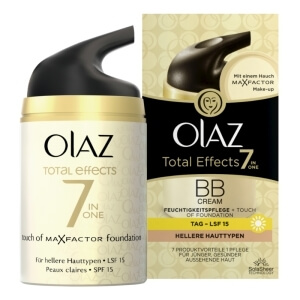 OLAZ Total Effects BB Cream Feuchtigkeitspflege + Touch of Foundation