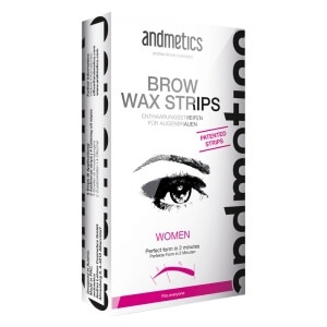 andmetics BROW WAX STRIPS