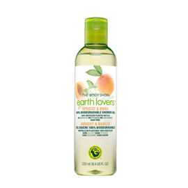 "The Body Shop Earth Lovers™ Lemon & Thyme Shower Gel Vinnare av ""Årets ekologiska/naturliga produkt"""