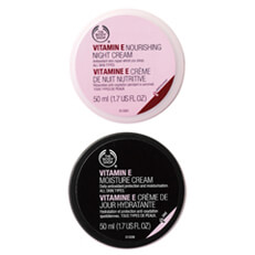 The Body Shop Vitamin E Moisture Cream + Nourishing Night Cream