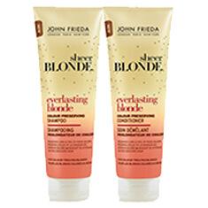John Frieda Everlasting Blonde Schampo & Balsam
