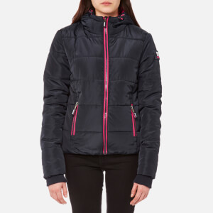 Superdry Women's Sports Puffer Jacket - Navy
