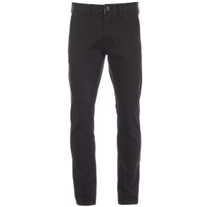 Brave Soul Men's Armstrong Stretch Chinos - Black
