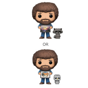 Bob Ross with Raccoon Pop! Vinyl Figure with Chase