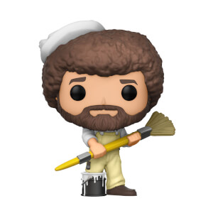 Bob Ross with Overalls Funko Pop! Vinyl