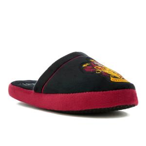Harry Potter Men's Gryffindor Slippers - Black