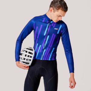 PBK Vello Winter Roubaix Jersey - Blue