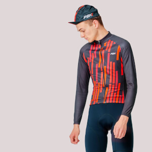 PBK Vello Winter Roubaix Jersey - Red