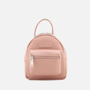 Grafea Women's Mini Zippy Backpack - Cappuccino